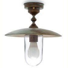 Latina Ceiling Light Aged Copper