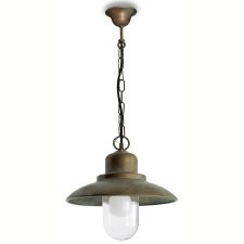 Bianco Chain Ceiling Light Aged Copper