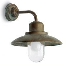 Bianco Outdoor Wall Light Aged Copper