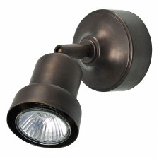 Pavia Single Spot Light Bronzed