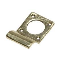 Kirkpatrick B1485 Cylinder Door Pull Hammered Brass