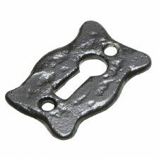 Kirkpatrick 1501 Shaped Escutcheon Black
