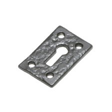 Kirkpatrick 1502 Plain Escutcheon Antique Black