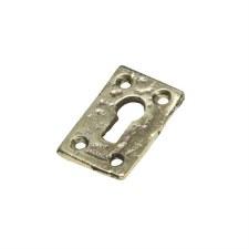 Kirkpatrick B1502 Plain Escutcheon Hammered Brass