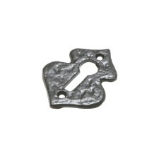 Kirkpatrick 1504 Shaped Escutcheon Antique Black