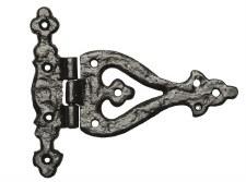 Kirkpatrick 1511 Decorative Hinge Antique Black