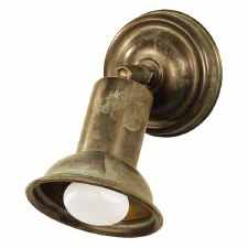 Fermo Single Spot Light Aged Copper