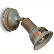 Siena Single Spot Light Aged Copper