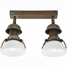 Medio Double Spot Light Aged Copper
