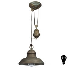 1596 E15(USA) Rise & Fall Pendant Light