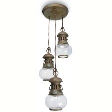 Casoria Pendant 3 Light Aged Copper
