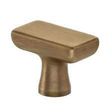 Croft 1625 Capital Cabinet Knob Light Antique Brass
