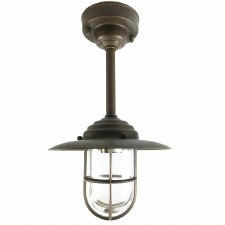 Messina Porch Pendant Aged Copper