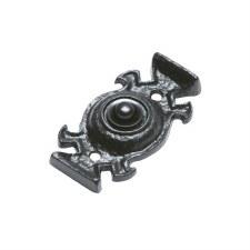 Kirkpatrick 1753 Door Bell Push Black Ironwork