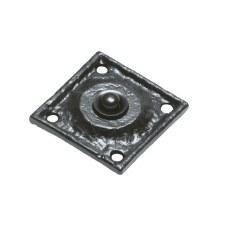 Kirkpatrick 1759 Square Door Bell Push Black