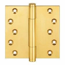 "Samson TriTech 4"" x 4"" Polished Brass Unlacquered"