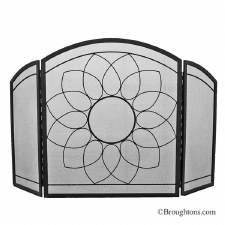 Sunflower Fire Screen