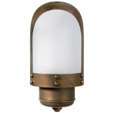 Amalfi Outdoor Wall Light Lantern Aged Copper