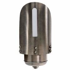 Amalfi Nautical Outdoor Wall Light Lantern Aged Nickel