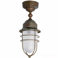 Pizzo Fixed Ceiling Light Aged Copper