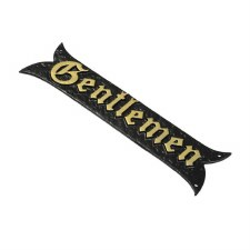 Kirkpatrick 1855 Nameplate 8 Antique Black