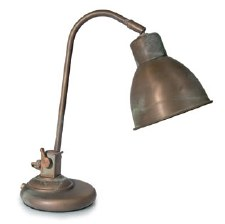 Anzio Table Lamp Aged Copper