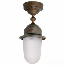 Napoli Ceiling Light Aged Copper