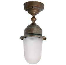 Rho Ceiling Fixed Pendant Light Aged Copper