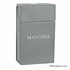 Matchstick Holder, Grey