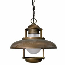 Sarno Ceiling Light Aged Copper