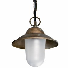 Aversa Ceiling Light Aged Copper