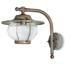 Bergamo Wall Bracket Projection Arm Light Aged Copper