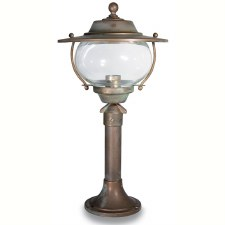 Bergamo Small Pillar Light Aged Copper