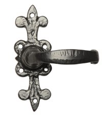 Kirkpatrick 2433 Door Latch Handles Antique Black