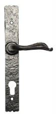 Kirkpatrick 2460 Multipoint Door Lock Handles 92mm Antique Black
