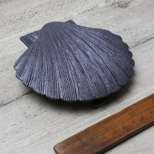 Scallop Shell Door Knocker - Antique Iron