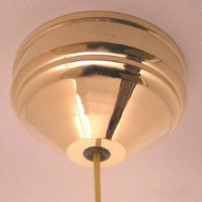 Ceiling Pull Switch Polished Brass Unlacquered, 2 Way