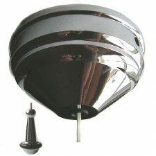 Ceiling Pull Switch Chrome, 2 Way