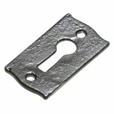 Kirkpatrick 3039 Rectangular Escutcheon Black
