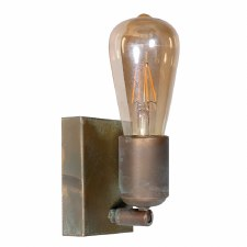 Otranto Adjustable Wall Light Aged Copper