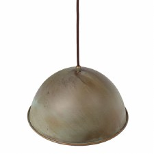 Milan Ceiling Pendant Light 300mm Aged Copper