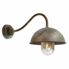 Milan 3238 Outdoor Wall Light Aged Copper