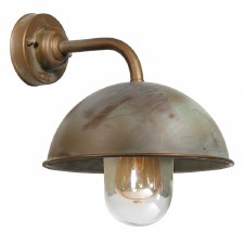 Milan 3239 Outdoor Wall Light Aged Copper