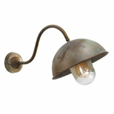 Milan 3240 Outdoor Wall Light Aged Copper