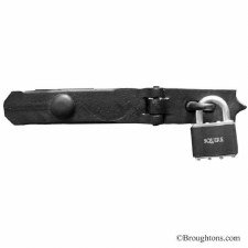 "Kirkpatrick 3665 Locking Bar Swivel 24"" Smooth Black"
