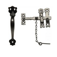 Kirkpatrick 3613 Suffolk Thumb Latch Antique Black
