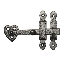 Kirkpatrick 3620 Cupboard Door Latch Antique Black