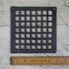 "Air Vent Cast Iron 5.1/2"" x 5.1/2"""