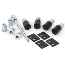 From The Anvil Set Of 4 Secure Sash Stops Black