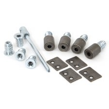From The Anvil Set Of 4 Secure Sash Stops Pewter